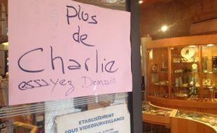 Les 11.000 exemplaires de Charlie mis en vente mercredi 14 janvier à Bordeaux se sont tous écoulés dans la matinée