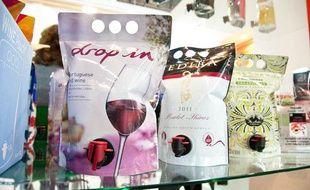 Les pouch-up, une des grandes nouveautés du salon Vinitech 2012 de Bordeaux