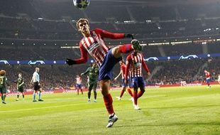 Antoine Griezmann avec l'Atlético Madrid le 28 novembre 2018.