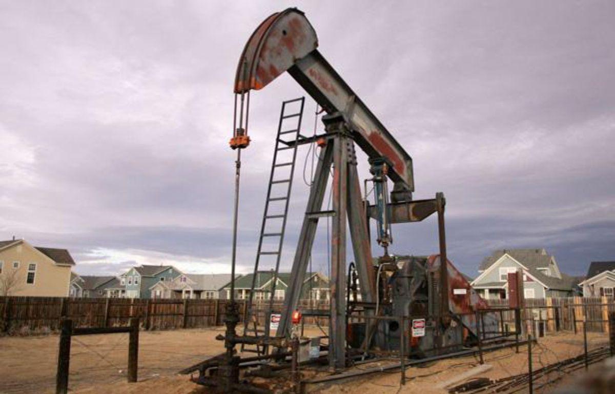 Forage de gaz aux Etats-Unis, dans le Colorado. – DAVID ZALUBOWSKI/AP/SIPA