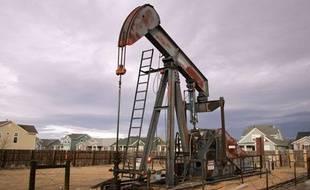 Forage de gaz aux Etats-Unis, dans le Colorado.