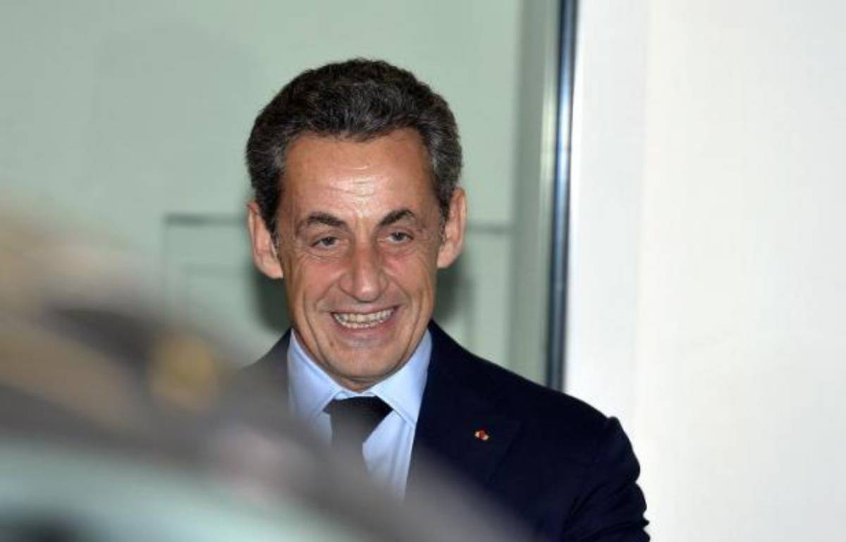 Nicolas Sarkozy au siège de l'UMP à Paris le 1er décembre 2014 – Miguel Medina AFP