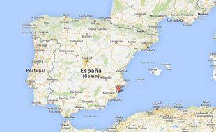 Torrevieja, dans l'est de l'Espagne.