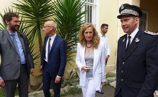 La ministre de la justice Nicole Belloubet était en déplacement, jeudi, à la maison d'arrêt de Nice.