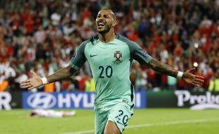La joie de Quaresma après son but contre la Croatie