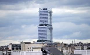 Le nouveau palais de justice de Paris, porte de Clichy.