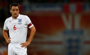 Le défenseur et capitaine de l'équipe d'Angleterre, John Terry, lors d'un match à Wembley contre la Biélorussie, le 14 octobre 2009.