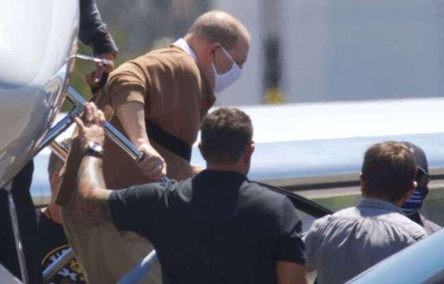 648x415 l ex producteur harvey weinstein a son arrivee a l aeroport de burbank en californie le 20 juillet