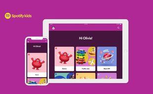 Spotify dévoile une application destinée aux enfants, Spotify Kids