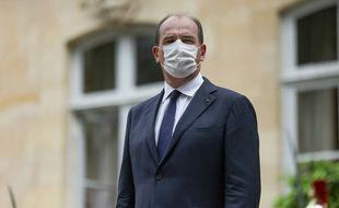 Le Premier ministre, Jean Castex, devant l'Hôtel de Matignon, le 6 juillet à Paris