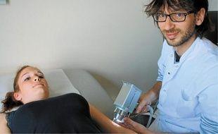 Damien Giacchero exerce au service dermatologie du CHU de Nice.