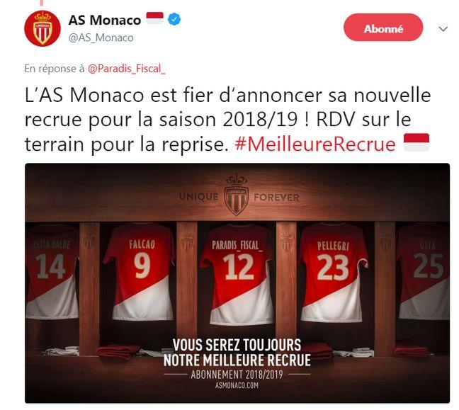 L'AS Monaco appréciera