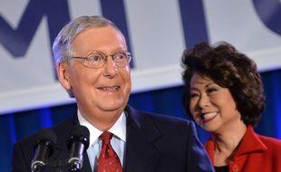 Le sénateur républicain du Kentucky, Mitch McConnell, qui pourrait être le chef du Sénat.