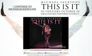 Le dernier titre de Michael Jackson, «This is it», révélé au public