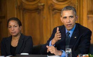Le président américain Barack Obama, le 1 décembre 2015 à Paris