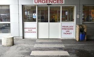 Les urgences d'un hôpital. (Illustration)