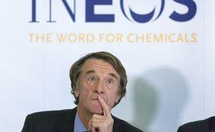 Jim Ratcliffe, président d'Ineos, désormais propriétaire de l'OGC Nice.