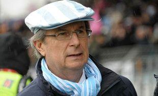 Jacky Lorenzetti, le président du Racing-Metro, le 4 décembre 2010 à Colombes.