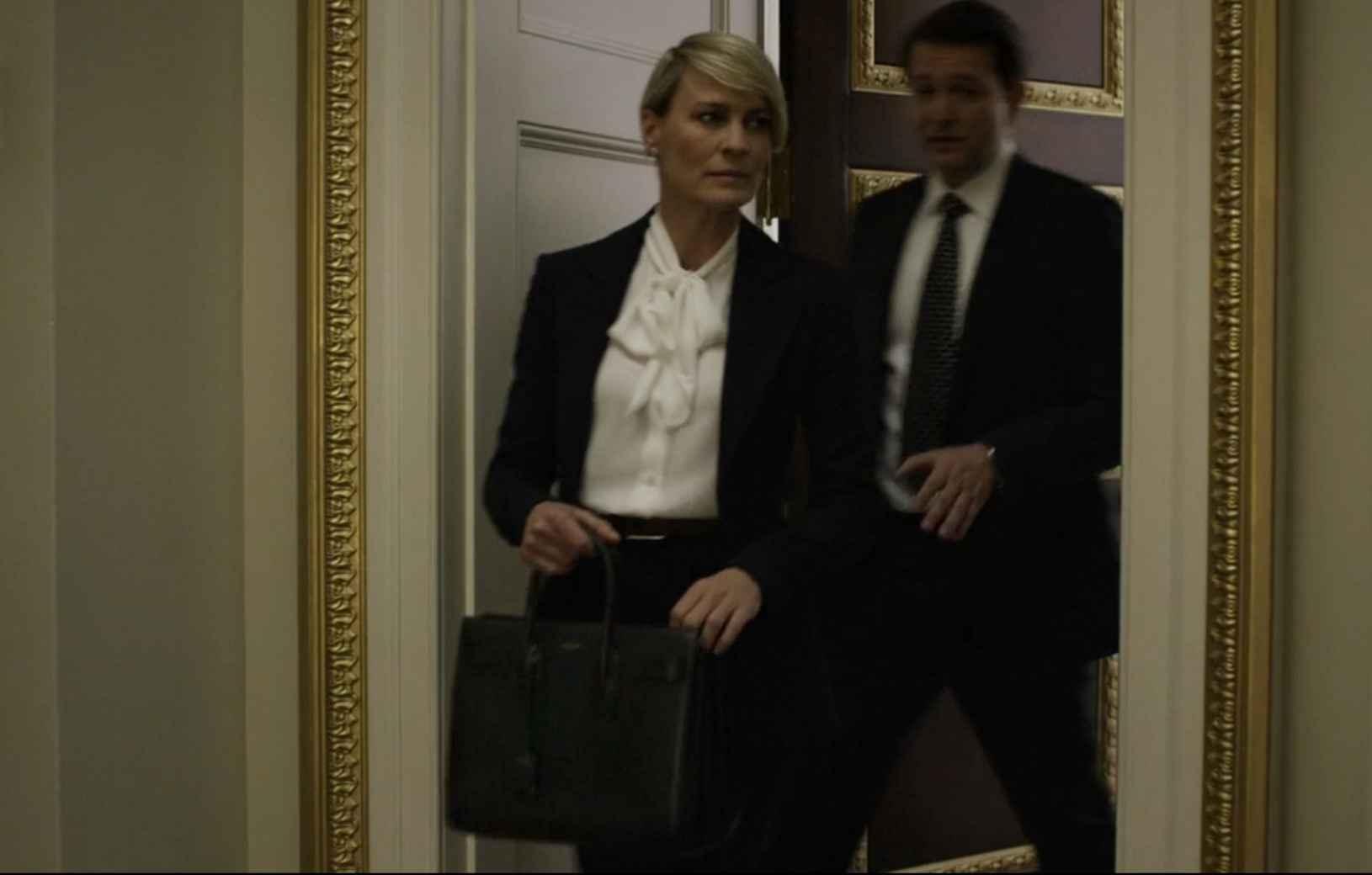 claire underwood's ysl handbag