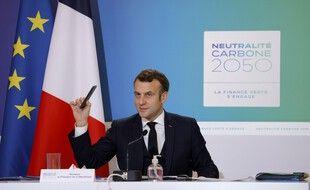 Emmanuel Macron, le 12 décembre 2020 à Paris.