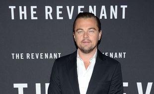 L'acteur Leonardo DiCaprio le 6 janvier 2016 à New York.