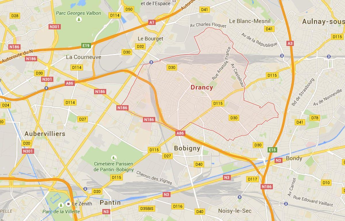 Google Maps de Drancy, en Seine-Saint-Denis. – Google Maps