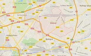Google Maps de Drancy, en Seine-Saint-Denis.