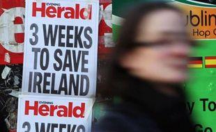 Le gouvernement irlandais réunit dimanche un conseil des ministres extraordinaire afin de finaliser un plan de rigueur draconien, au centre des négociations marathon à Dublin avec l'UE et le FMI sur une aide internationale de dizaines de milliards d'euros.
