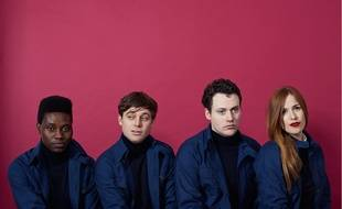 Le groupe Metronomy.
