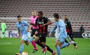 Ligue Europa: Nice battu par le Slavia Prague et proche de l'élimination