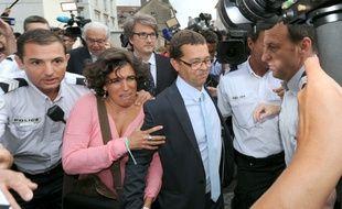 Nicolas Bonnemaison, le 25 juin 2014 à l'issue de son procès.