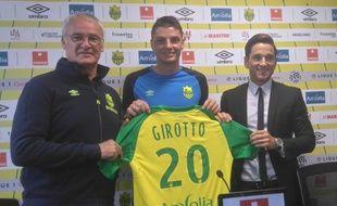 La présentation du Brésilien Andrei Girotto.