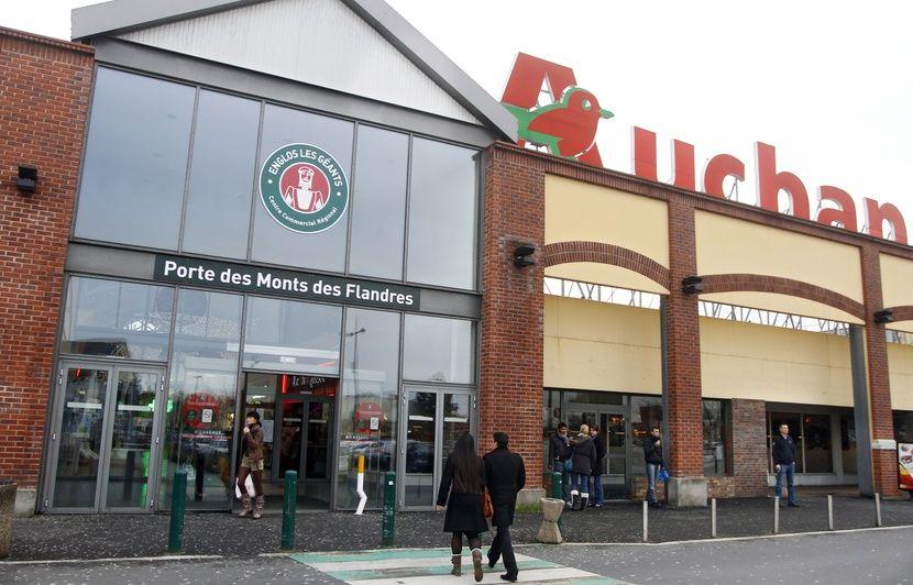 Nord: Auchan boucle une année 2014 «en-deçà» des attentes