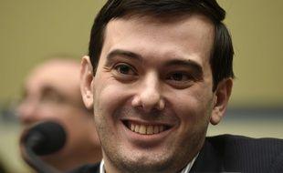 Le spéculateur du médicament, Martin Shkreli, lors d'une audition au Congrès américain, le 4 février 2016.