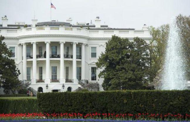 Une partie de la maison blanche vacu e apr s une alerte for Attaque a la maison blanche