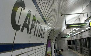 Dans le mŽtro Ligne A, le 27 septembre 2004 ˆ Toulouse.