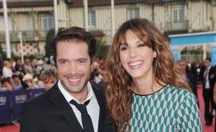Nicolas Bedos et Doria Tillier au festival du cinéma américain de Deauville en septembre 2014