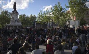 Rassemblement à Paris le 3 mai 2015 pour fêter les 30 ans de Reporters sans frontières