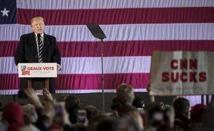 Donald Trump lors d'un meeting le 9 décembre 2016 à Baton Rouge.