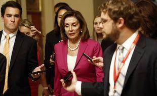 La présidente de la Chambre des représentants Nancy Pelosi au Capitole, à Washington, le 16 juillet 2019.