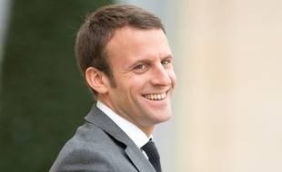 Le ministre de l'Economie Emmanuel Macron, le 5 novembre 2015 à l'Elysée.