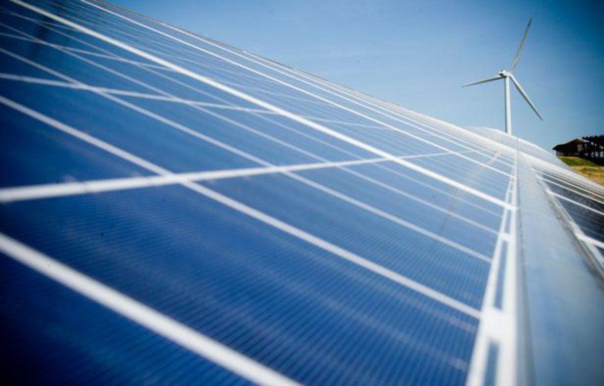 Un parc photovoltaïque dans le Lauragais. – FREDERIC SCHEIBER / 20 MINUTES