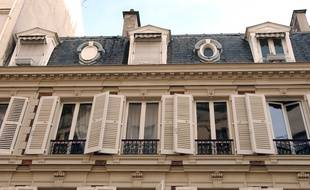 Un immeuble de Neuilly-sur-Seine, ville la plus riche de France (illustration)