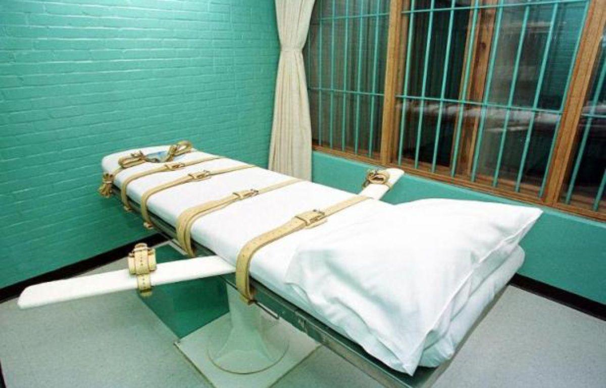 Une chambre d'exécution du pénitencier de Huntsville, au Texas, aux États-Unis. – Paul Buck AFP