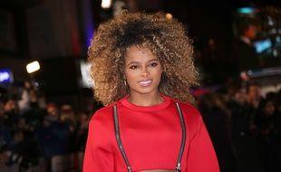 La chanteuse Fleur East a l'avant-première britannique de «Creed», à Londres, le 12 janvier 2016.