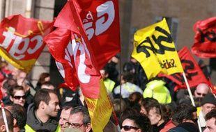 Manifestation contre la réforme des retraites, le 25 octobre 2010.