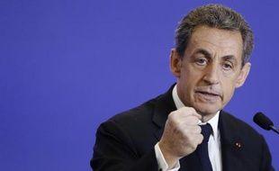 Le président de l'UMP Nicolas Sarkozy, le 7 mars 2015 à Paris