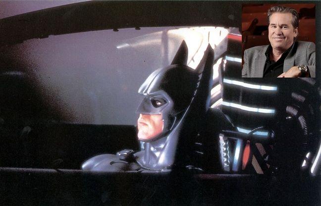Val Kilmer dans Batman forever.