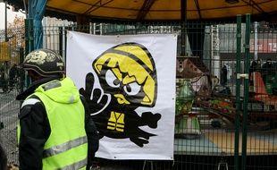 Premier anniversaire des manifestations des «gilets jaunes» à Paris, 17 novembre 2019