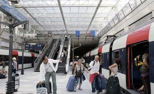 La gare RER B de l'aéroport Roissy Charles-de-Gaulle. (Illustration)